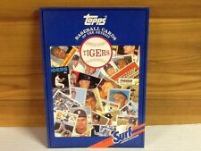 1987 Topps Surf Baseball Cards of the Detroit Tigers