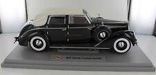 Signature Models Die Cast 1:18 - Black 1937 Lincoln Touring Cabriolet