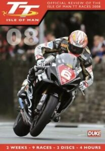 TT IOFFICIAL REVIEW OF THE ISLE OF MAN TT RACES 2008 NEW & SEALED
