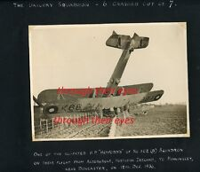 DVD SCANS 1930s RAF AIRMANS  PHOTO ALBUM 503 SQUADRON COUNTY OF LINCOLN BIPLANES
