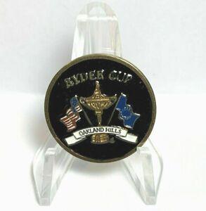 2004 Oakland Hills Ryder Cup Golf Ball Marker