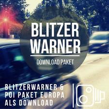 Blitzerwarner Download Paket passend für VW Discover Media & Pro