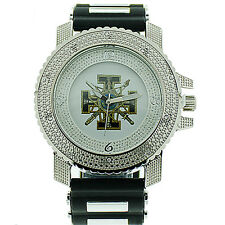 Masonic Knights of Templar Watch - Full Black w/ Silicone Band - York Rite Mason