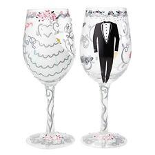 Lolita SETW-5522A Bride and Groom Wedding Wine Glass Gift Set