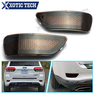 For Jeep Compass Grand Cherokee 2011-20 Dodge Journey Rear Bumper Reflector Lamp