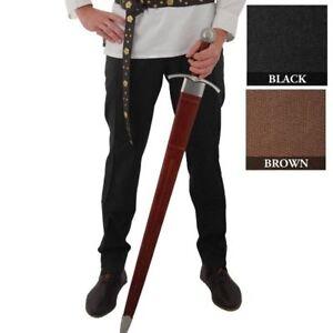 Medieval Hose Cotton Pants Larp SCA Pirate Renaissance Cosplay reenactment