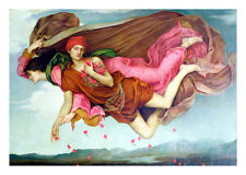 Sleep and Night 1878 by Evelyn de Morgan 53cm x 37.9cm High Quality Art Print