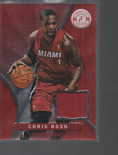 CHRIS BOSH 2012-13 PANINI TOTALLY CERTIFIED TOTALLY RED JERSEY CARD #3