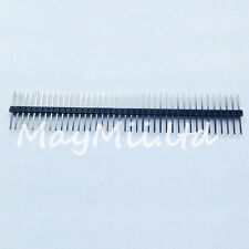 Hot 10pcs 40Pin 1*40 2.54mm 20mm Long Header Pin Male Breakable Pin Header Z