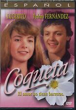 """Coqueta"" NEW DVD * Pedrito Fernandez & Lucerito (Lucero) * Original 1983 Film"