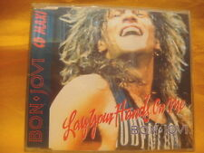 MAXI Single CD BON JOVI Lay Your Hands On Me 3TR 1989 arena rock