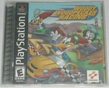 PlayStation Woody Woodpecker Racing