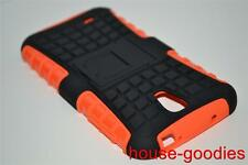 Good Protection Orange Case Cover For Samsung Galaxy S4 Durable Heavy Duty
