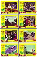 BATMAN ADAM WEST And BURT WARD Complete Set From TV Series 8x10 LC Print 1966