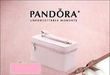 PANDORA | PINK TRAVEL CASE *NEW* AUTHENTIC RARE RETIRED Storage Box Jewelry USA