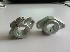 2pcs SHF20 20mm CNC Aluminum Alloy Mount Linear Bearing Rod Rail Shaft Support