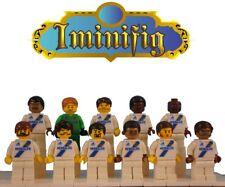 Custom LEGO MLS Los Angeles Galaxy Soccer Team 11 Players Ibrahimovic Cole