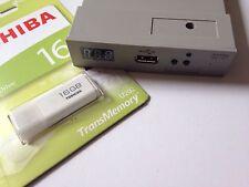 16gb USB Pen + Amiga Gotek / Cortex USB adf floppy drive emulator v.105a