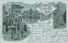 Wien: II. Bezirk: Venedig in Wien 1900 mit Sonderstempel Etablissement Venedig