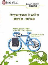 Sunup Eco MaxiDyn 6V12W Bike Spoke Dynamo (hub dynamo/dynohub alternative) USB