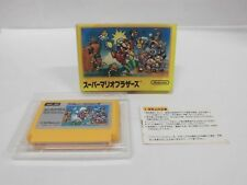 SUPER MARIO BROTHERS -- Famicom, NES. Japan game. Work fully. 10291