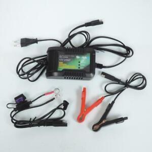 Chargeur intelligent de batterie lithium SKYRICH 12V 2Ah HBC-LF0202 pour moto
