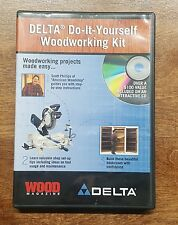 DELTA DIY Do-It-Yourself Woodworking Kit Plans How To CD Wood Magazine