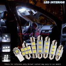 18x White LED Interior Light Bulbs Package Fit 2008-2013 Dodge Grand Caravan