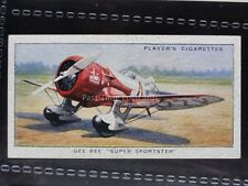 No.34 GEE BEE SUPER SPORTSTER - John Player & Son 1935