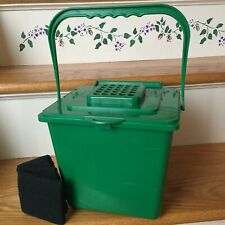 Compost Bin Kitchen Food Scraps Collector-Under Counter Pail /3 New Filters