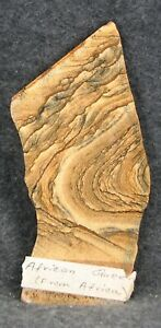 EXCELLENT AFRICAN QUEEN PICTURE JASPER SLAB FROM NAMIBIA 99 GRAMS