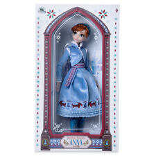 """NEW Disney Store Anna Olaf's Frozen Adventure 17"""" Limited Edition Doll 7000 Made"""