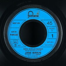 JANE BIRKIN - Mon amour baiser - 1973 France SP 45 tours jukebox