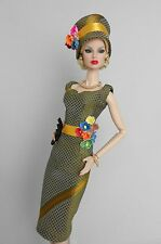 OOAK Vintage Barbie Silkstone /Fashion Royalty Clothes Outfit Dress