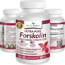PREMIUM 100% ULTRA PURE Forskolin Extract For Weight Loss MAX STRENGTH w/ 40...