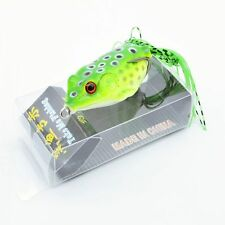 New listing 1pcs/lot Frog & Box Bass Fishing Lures 6cm/12g Soft Plastic Bait Tackle Topwater
