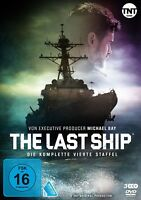 THE LAST SHIP-STAFFEL 4 - DANE,ERIC/BALDWIN,ADAM/NEITLING,MARISSA  3 DVD NEU