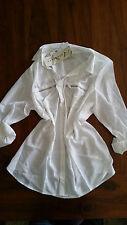 Autograph Orient Express shirt 3/4 zip pockets BNWT free post RRP$49.99 D90