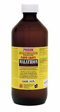 Malathion Garden Spray 500mL David Grays Aphid Scale Moth Tree Fruit Flies Pest