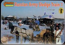Strelets 1/72 Russian Army Sledge Train 1 # 135