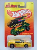 Hot Wheels 2011 The Hot Ones Ferrari 512 YELLOW HTF FREE SHIPPING