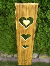 Schild, Brett, Tafel, Holz, Fichte, Handarbeit, Deko, freistehen, Höhe ca.100cm