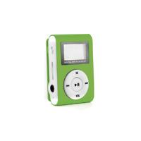 Mp3 Player Grün plus Clip / Mini Mp3 USB Musik Display