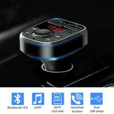 Hands Free Bluetooth Car USB Charger FM Transmitter Radio Adapter MP3 Player