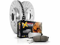 Front Brake Pad and Rotor Kit For 2011-2015 Ram 1500 2014 2013 2012 Y152KF