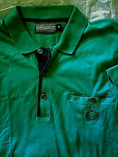 Vintage Members Only Pullover Polo Shirt Blue Med M 80s 90s
