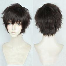 Cardcaptor Sakura: Clear Card Toya Kinomoto Touya Short Coffee Brown Cosplay Wig