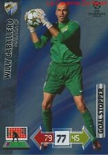 U67 CABALLERO MALAGA CF GOAL STOPPER CARD CHAMPIONS LEAGUE ADRENALYN 2013 PANINI