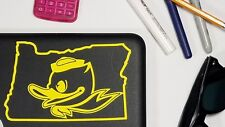 Oregon Ducks Decals, Yeti Decal, Laptop Decal, Phone Decal, Sticker, Car Decal
