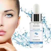 Pure Hyaluronic Acid 100% Face Serum Anti Aging Wrinkles Collagen Booster Cream